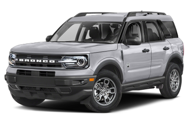 side view of 2021 Bronco Sport Ford
