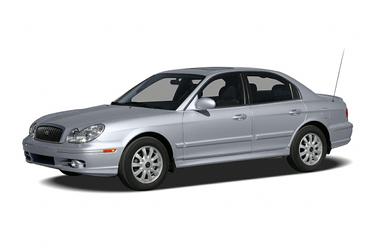 side view of 2005 Sonata Hyundai
