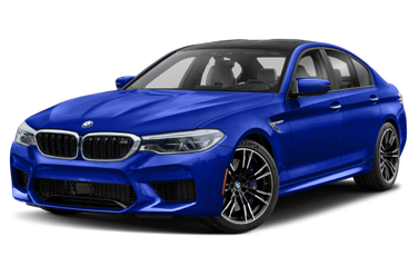 side view of 2020 M5 BMW