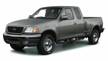 side view of 2001 F-150 Ford