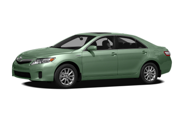 side view of 2010 Camry Hybrid Toyota