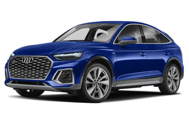 side view of 2021 Q5 Audi