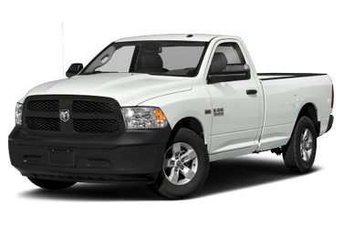 side view of 2016 1500 RAM