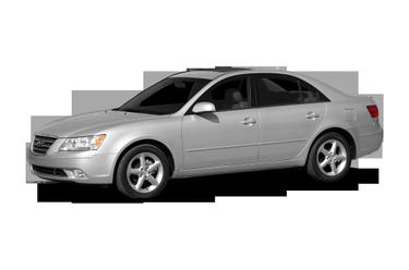 side view of 2009 Sonata Hyundai