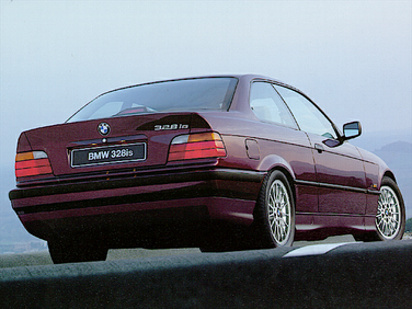 side view of 1997 328 BMW