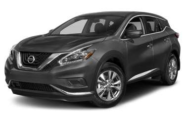 side view of 2018 Murano Nissan