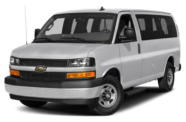 side view of 2016 Express 2500 Chevrolet