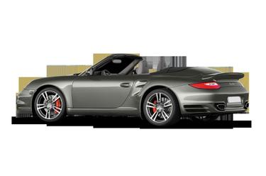 side view of 2010 911 Porsche
