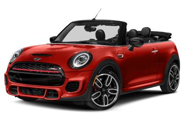 side view of 2020 Convertible MINI