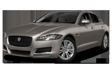 side view of 2018 XF Jaguar