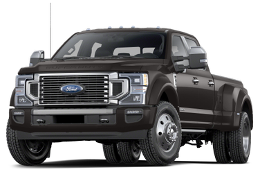 side view of 2021 F-450 Ford
