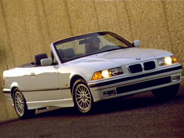 side view of 1999 328 BMW