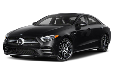 side view of 2020 AMG CLS 53 Mercedes-Benz