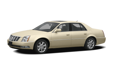 side view of 2008 DTS Cadillac