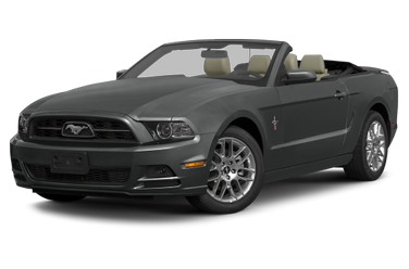 side view of 2014 Mustang Ford