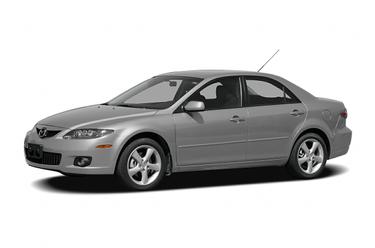 side view of 2006 Mazda6 Mazda