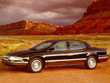 side view of 1996 New Yorker Chrysler
