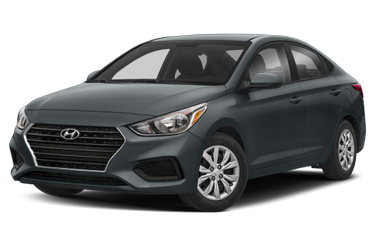 side view of 2019 Accent Hyundai