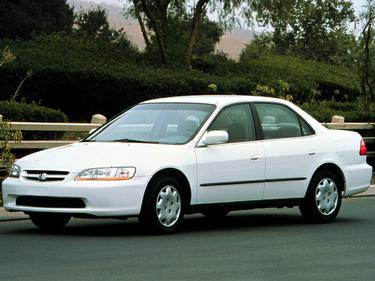 side view of 1999 Accord Honda