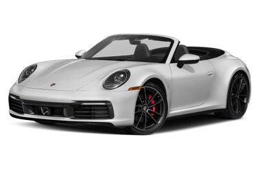 side view of 2020 911 Porsche