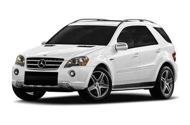 side view of 2009 M-Class Mercedes-Benz