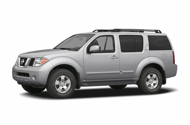 side view of 2006 Pathfinder Nissan