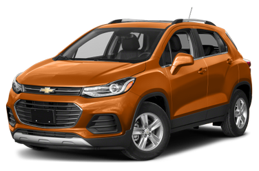 side view of 2018 Trax Chevrolet