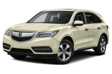 side view of 2015 MDX Acura