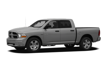 side view of 2011 Ram 1500 Dodge