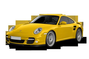 side view of 2011 911 Porsche