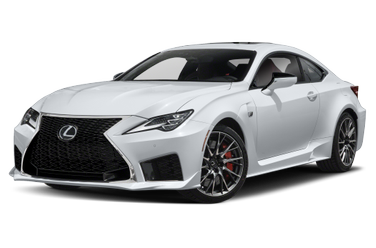 side view of 2020 RC F Lexus