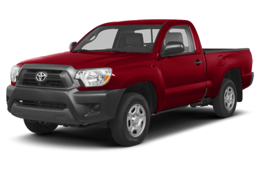 side view of 2013 Tacoma Toyota
