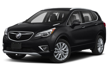 side view of 2019 Envision Buick