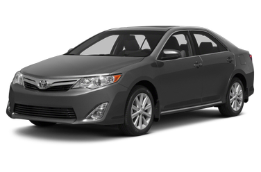 side view of 2013 Camry Toyota