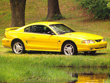 side view of 1994 Mustang Ford