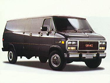 side view of 1993 Vandura GMC