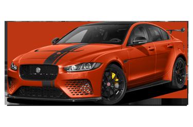 side view of 2019 XE SV Jaguar