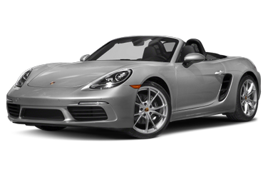 side view of 2017 718 Boxster Porsche