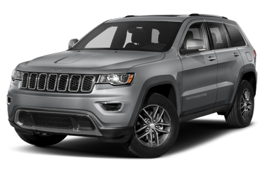 side view of 2018 Grand Cherokee Jeep