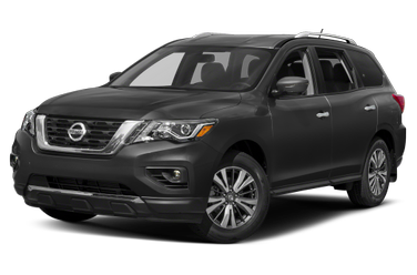 side view of 2018 Pathfinder Nissan