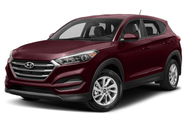 side view of 2018 Tucson Hyundai