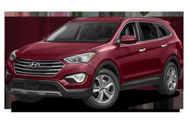 side view of 2016 Santa Fe Hyundai