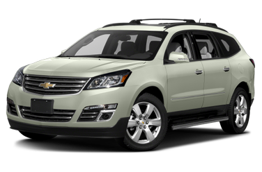 side view of 2017 Traverse Chevrolet