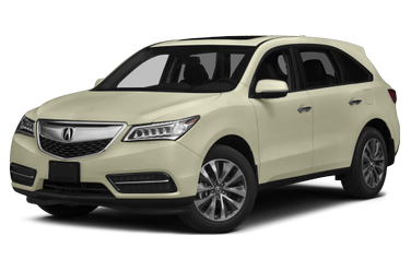 side view of 2014 MDX Acura