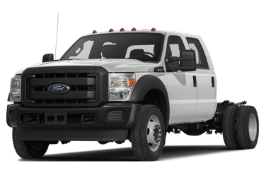side view of 2016 F-450 Ford