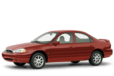 side view of 2000 Contour Ford