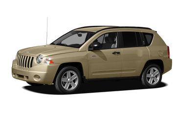 side view of 2010 Compass Jeep