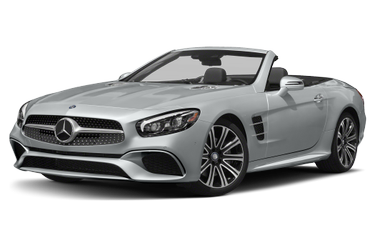 side view of 2020 SL 450 Mercedes-Benz