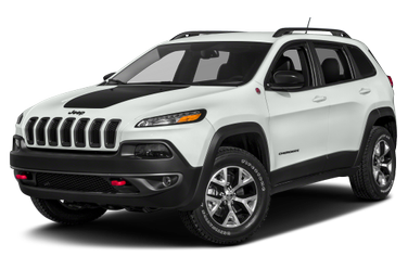 side view of 2015 Cherokee Jeep