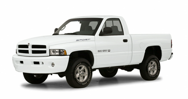 side view of 2001 Ram 1500 Dodge